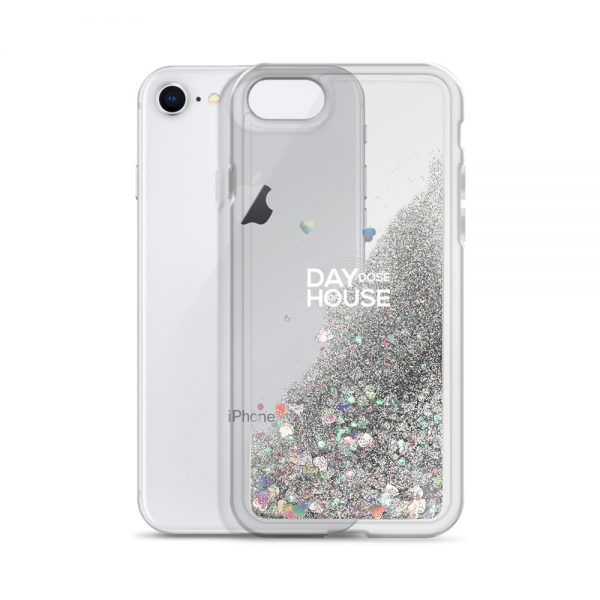 i phone cover silver